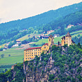 Saben Abbey On High Cliff Near Klausen View by Brch Photography