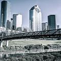 Sabine Promenade Over Buffalo Bayou by Andy Crawford