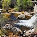 Sabino Creek Falls by Kathryn Meyer