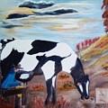 Sacandole  La Leche Ala Vaca by Juan Carlos Gonzalez