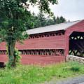 Sachs Covered Bridge  by Ruth  Housley