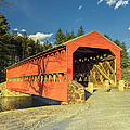 Sachs Covered Bridge Square by Marianne Campolongo