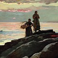 Saco Bay by Winslow Homer