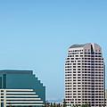 Sacramento California Cityscape Skyline On Sunny Day by Alex Grichenko
