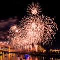 Sacramento Fireworks 1 by Jim Thompson