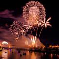 Sacramento Fireworks 2 by Jim Thompson