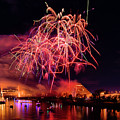 Sacramento Fireworks Composite 5 by Jim Thompson