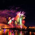 Sacramento Fireworks Composite 6 by Jim Thompson