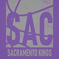 Sacramento Kings City Poster Art by Joe Hamilton