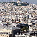 Sacre Coeur At The Summit Of Montmartre Paris by Pierre Leclerc Photography