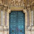 Sacre Coeur Doorway by Brian Jannsen