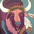 Sacred Buffalo by Sharon Davis