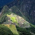 Sacred City Of Machu Picchu by James Brunker
