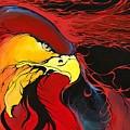 Sacred Eagle by Dallas Poundmaker