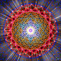 Sacred Geometry 146 by Endre Balogh