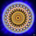Sacred Geometry 187 by Endre Balogh