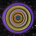 Sacred Geometry 405 by Endre Balogh