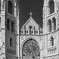 Sacred Heart Cathedral - Newark,new Jersey by Yuri Lev