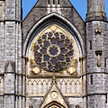 Sacred Heart Church Detail Roscommon Ireland by Teresa Mucha