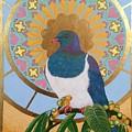 Sacred Wood Pigeon by Anahata Ishaya