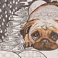 Sad Pup by Thanh Ha Nguyen-Maga