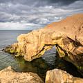 Saddle Rocks At High Tide by David Head