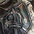 Saddle Study by Stephanie Come-Ryker