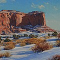 Saddleback Butte-monument Valley by Lanny Grant