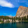 Saddleback Lake by Brandon Swanson