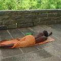Sadhu Sleeping On Arunachala India by Sonya Ki Tomlinson