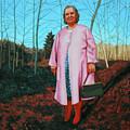 Sadie In Pink by Allan OMarra