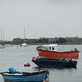 Safe Harbour On A Murky Day by Josie Gilbert