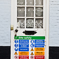 Safety Sign by Tom Gowanlock