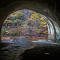 Sagamore Creek Tunnel Exit Interior by Claus Siebenhaar