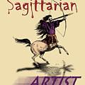 Sagittarian Artist by Joseph Juvenal