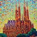 Sagrada Familia Barcelona Spain by Ana Maria Edulescu