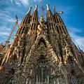 Sagrada Familia Facade Barcelona by Adam Rainoff