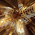 Sagrada Familia In Barcelona by Merijn Van der Vliet