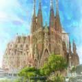 Sagrada Familia by Joaquin Abella
