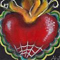 Sagrado Corazon 2 by  Abril Andrade Griffith