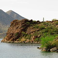 Saguaro Lake Shore by Marilyn Smith