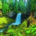 Koosa Falls, Oregon by Nancy Marie Ricketts