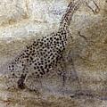 Saharan Rock Painting by Granger