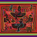 Sahilas And Argars In Their Hammocks by Vagabond Folk Art - Virginia Vivier