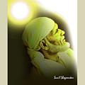 Saibaba Portrait  20 By Sunil Shegaonkar by Saibaba Shirdi