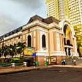 Saigon's Opera House Vietnam by Rene Triay Photography