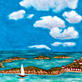 Sail Around The Islands by Anne  Alfaro