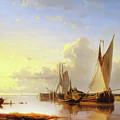 Sail Away At Sunset by Isabella Howard