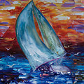 Sail Away With Me by OLena Art Brand