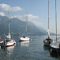 Sail Boats, Lake Como, Italy by Focus Far and Wide